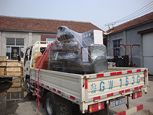 7月26日,一台120kw柴油发电机组发往四川德阳