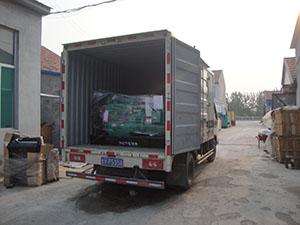 7月26日,一台30kw柴油发电机组发往浙江义乌